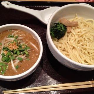 濃厚味噌つけ麺(新潟濃厚味噌 弥彦)