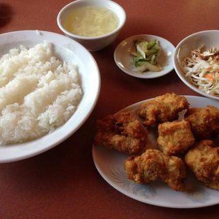 唐揚げ定食(じゃんじゃん亭 (ジャンジャンテイ))