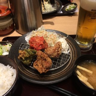 彩りミックス定食(とり多津 錦糸町店 )