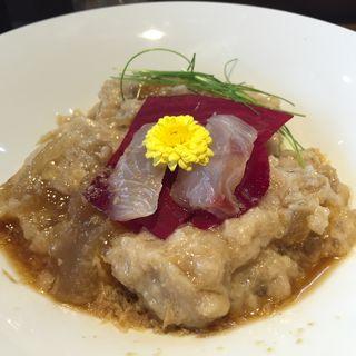 冷やし鯛ポタージュラーメン(市川ラーメン組合 コラボ限定)(らー麺屋 バリバリジョニー )
