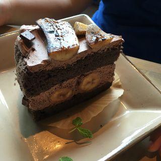 チョコバナナケーキ(ビバ カフェスタ (VIVA cafe'sta))