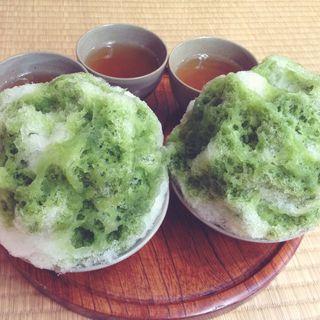 赤福氷(赤福 内宮前支店)