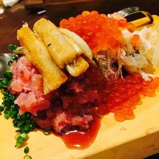 のっけ寿司(魚真 下北沢店 (うおしん))