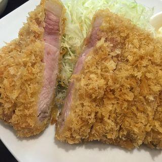 霧降高原豚上ロースかつ(170g)定食(成蔵 (ナリクラ))