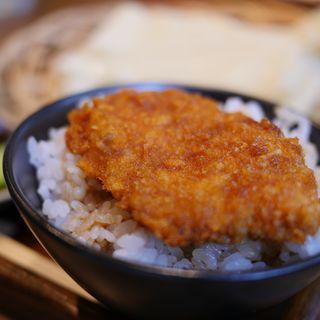 ミニソースカツ丼 (藤屋本店 (ふじやほんてん))