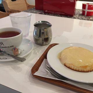 オリジナルデンマークチーズケーキ(リアルダイニングカフェ観音屋 神戸三田アウトレット店 (Real Dining Cafe Kannonya))