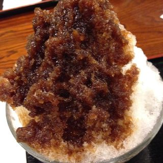 黒蜜氷(本家尾張屋 四条店)