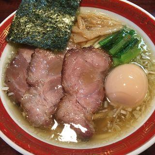 特製塩平打ち麺(懐や )