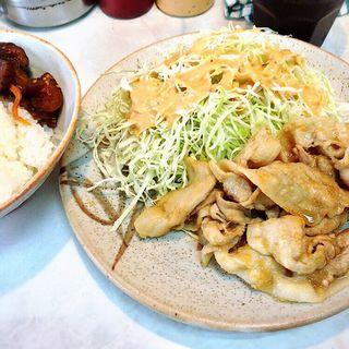生姜焼き定食(とんかつ三太 (とんかつ・さんた))