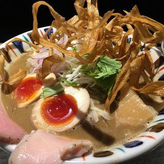 煮干し吟醸nigori(大)(鶏Soba 座銀 にぼし店 (トリソバ ザギン))