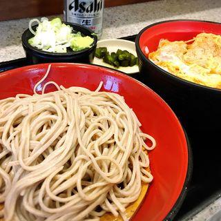 カツ丼セット(名代 富士そば 八重洲口店 )