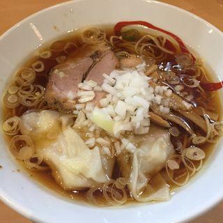 魂の鶏そば醤油(12周年限定)(魂麺  (コンメン【旧魂麺 まつい】))