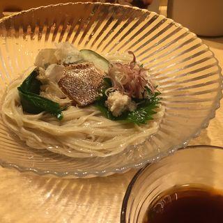 小麦つけ蕎麦(夏麺第4弾)(饗 くろ喜 (もてなし くろき/饗 くろ㐂))