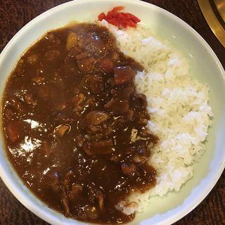 牛スジカレー(焼肉 咲咲亭 (ヤキニク サクサクテイ))