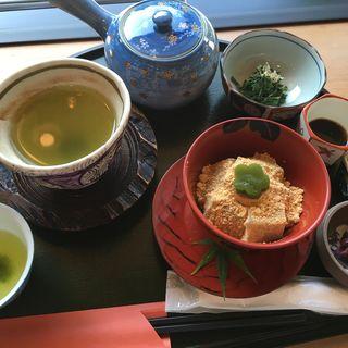 わらび餅セット(天んぐ 本店 )