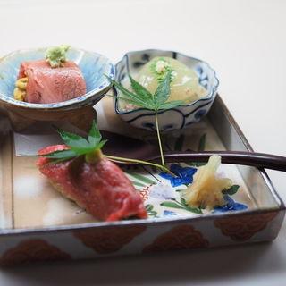 おまかせ前菜(和牛銘菜 然 (ゼン【旧店名】CHARCOAL GRILL 然))