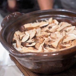 松茸ご飯(和牛銘菜 然 (ゼン【旧店名】CHARCOAL GRILL 然))