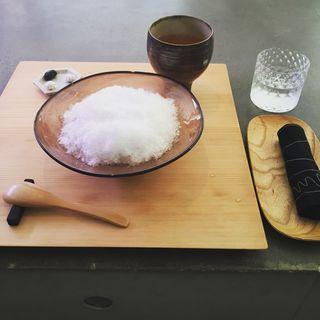 くるみ氷(餅匠 しづく 新町店)