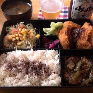 日替わりランチアンドビール(キッチン欧味 (キッチンオウミ))