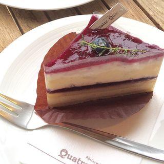 レアチーズケーキ(キャトルキャール 小平店 (Quatre-quarts))