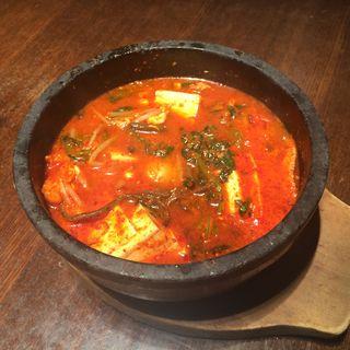 石鍋豆腐チゲ(焼肉トラジ 中部国際空港 セントレア店 )