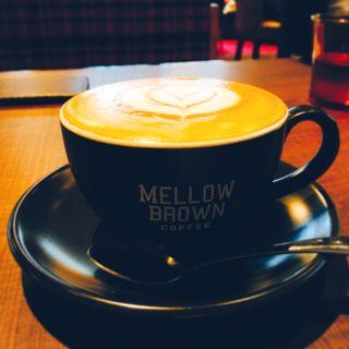 カプチーノ(メロウ ブラウン コーヒー 自由が丘本店 (MELLOW BROWN COFFEE))
