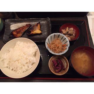 本日の焼魚定食(鳥然 海然 池袋店 )