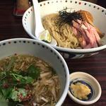 冷製塩ニボつけそば(夏麺第4弾)