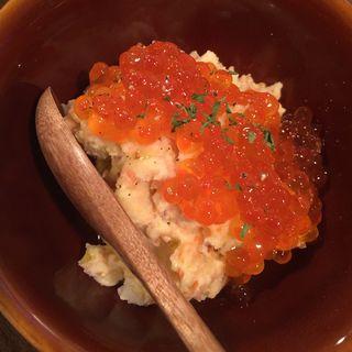 サーモンとイクラのポテトサラダ(京都ダイナー)
