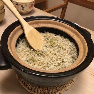 炊き込み御飯(ひょうたん )
