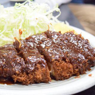 味噌カツ定食(とんかつ 奥三河 (おくみかわ))