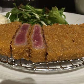 牛かつ膳(熟成牛かつ 銀座 ぎゅう道 (ジュクセイギュウカツ ギンザ ギュウドウ))