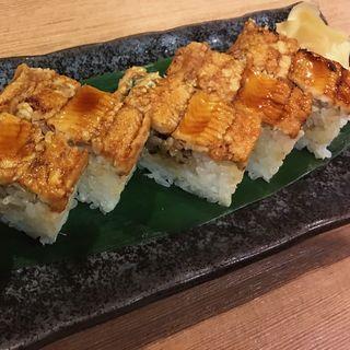 穴子押し寿司(こでまり )