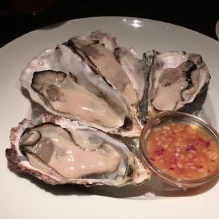 幻の生牡蠣キャッツアイオイスター(MASQ)