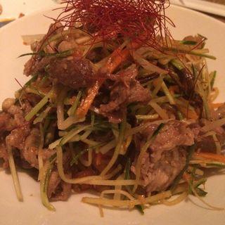 野菜たっぷりビビン麺(有楽町コパン・コパン (COPAIN・COPINE))