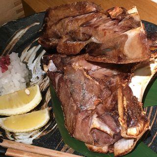 鮪 特大カマ塩焼き(かこいや)