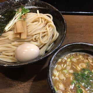 濃厚魚介つけ麺【極太麺】煮玉子(麺や よかにせ (めんや よかにせ))