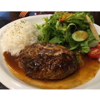 ランチ ハンバーグ(Cheval Cafe )