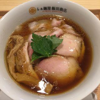 醤油チャーシュー麺(らぁ麺屋 飯田商店)