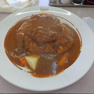 ハンバーグカレー(ニューラホール 竹町店 (La hore))