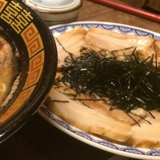 あぶり焼き豚皿(一蘭 キャナルシティ博多店)