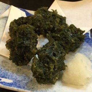 アオサノリの天ぷら(喜八 )