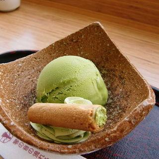 抹茶アイスクリーム「茶翠」(茶寮都路里 大丸東京店 (さりょうつじり))