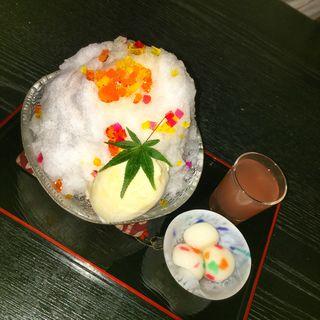 あめちゃんみたいなかき氷(ぎおん 楽楽 )