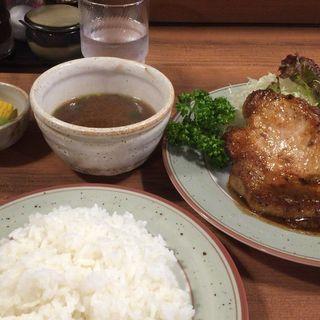 ポークソテー(津久志亭)