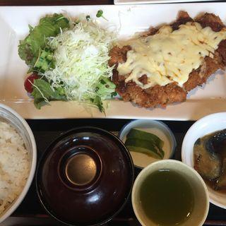 チキンのチーズ焼き定食(醍醐 )