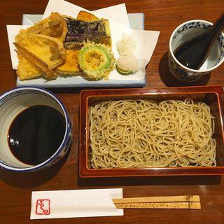 キスの天ぷらとお蕎麦のセット(馥や (フクヤ))