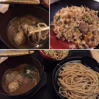 鶏豚魚介醤油つけ麺(麺屋 もり )