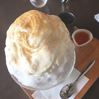 きな粉豆乳エスプーマ氷(吉祥菓寮 祇園本店 )