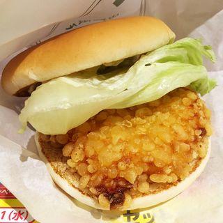 九州産華味鳥バーガー(ロッテリア福岡天神地下街店)